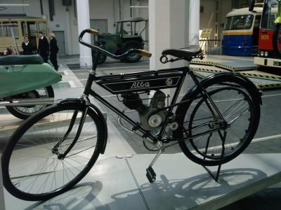Szczecin Czy ten rower to motocykl?