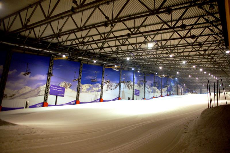 Druskienniki Na narty, na sztuczny stok