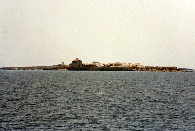 Isla de Tabarca. Wysepka bez samochodów