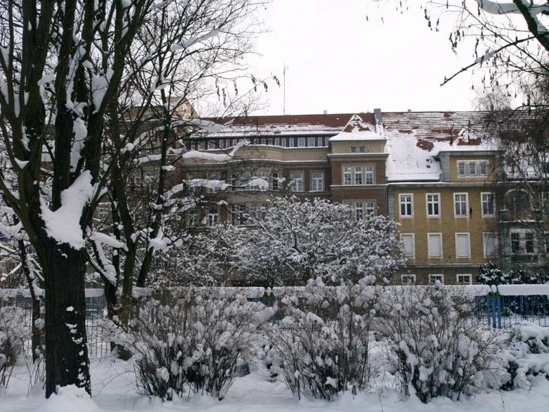 Szczecin. Zimowy spacer po zaśnieżonym mieście
