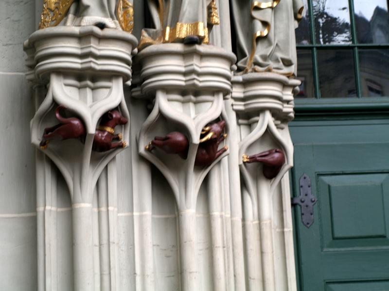 Berno. Katedra jak malowana