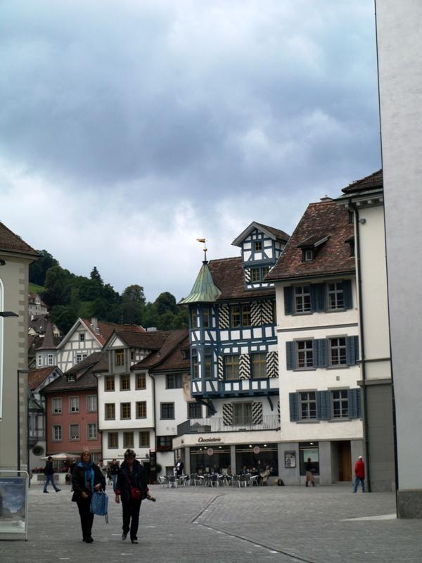 Sankt Gallen. W miejscu pustelni świętego Gawła