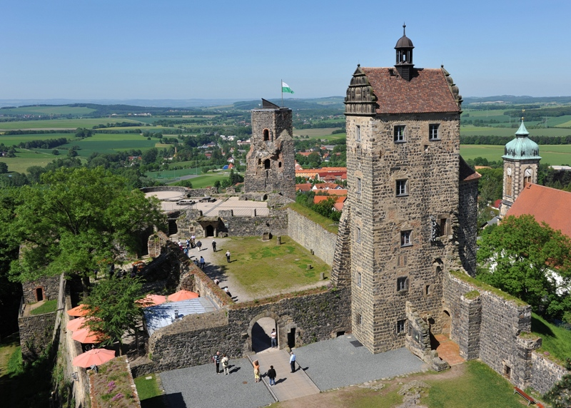 Stolpen. Zamek metresy Augusta II Mocnego