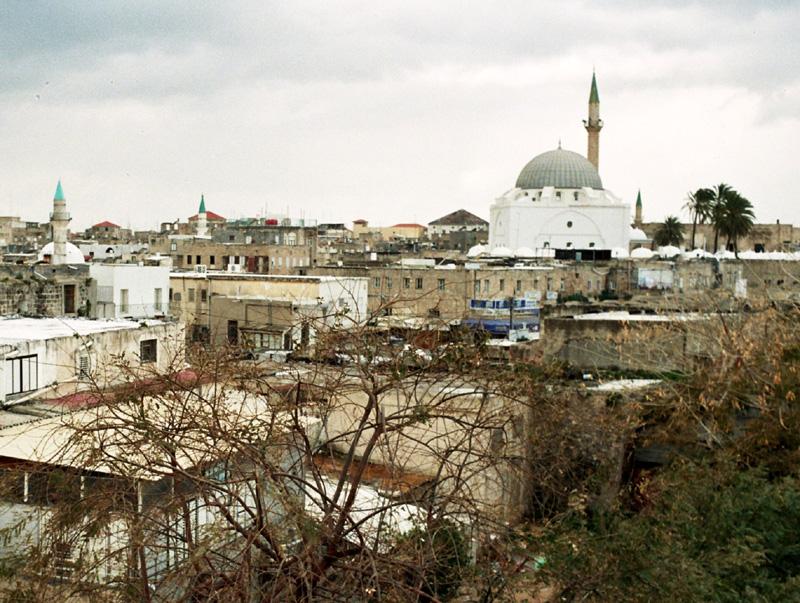 Akka Dzieło krzyżowców, Arabów i Turków