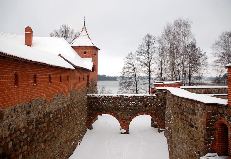 Troki Zamek księcia Witolda
