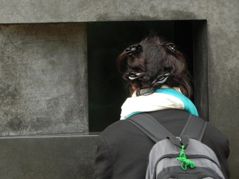 Berlin. Pomnik pamięci homoseksualistów