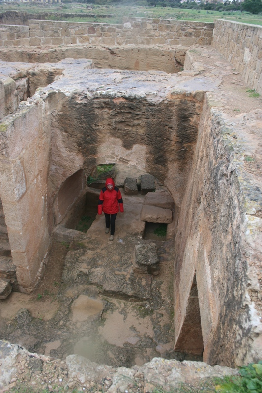 Pafos. Niekrólewskie groby królewskie