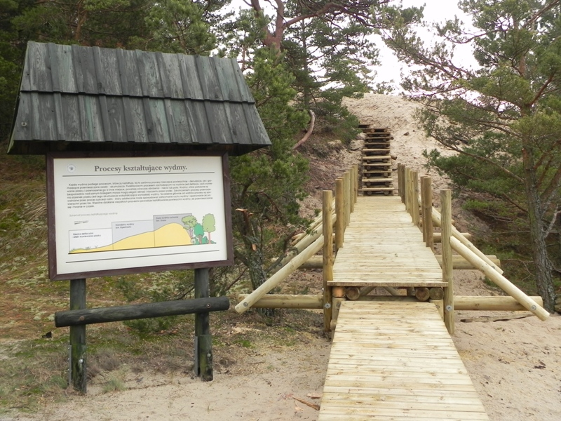 Orzechowo Morskie. Ruchome piaski Wydmy Orzechowskiej