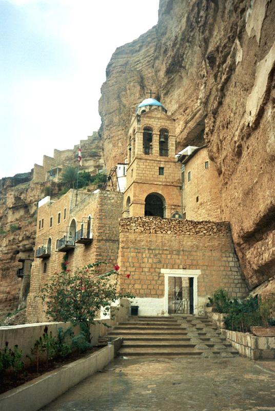 Wadi Qelt. Skalny klasztor świętego Jerzego