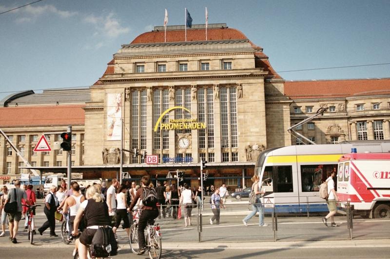 Lipsk Największy dworzec kolejowy w Europie