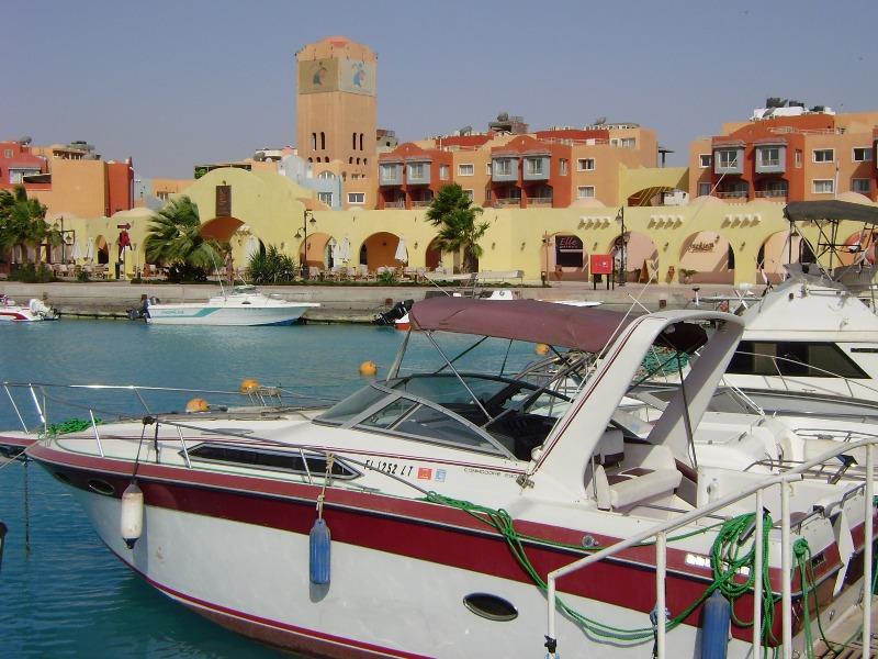 Hurghada Rozrywki w Nowej Marinie