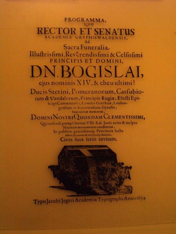 Szczecin. Bogusław XIV, ostatni z Gryfitów