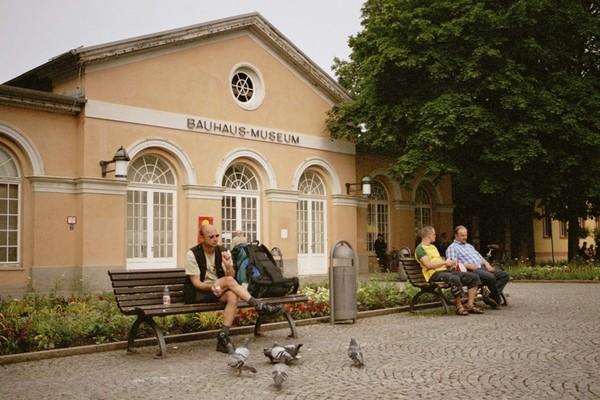 Weimar W tym mieście zrodził się Bauhaus