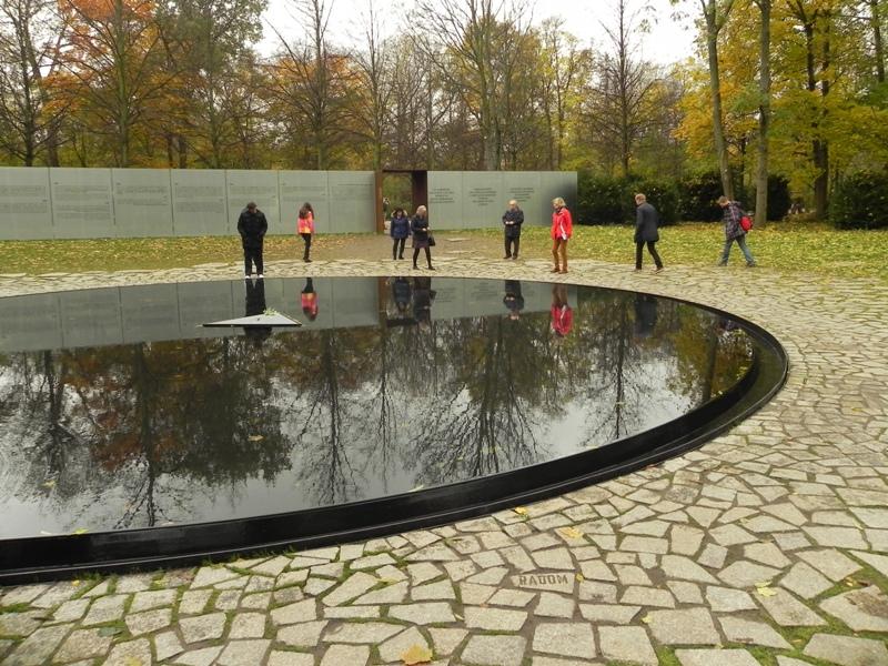 Berlin Jezioro łez Romów i Sinti