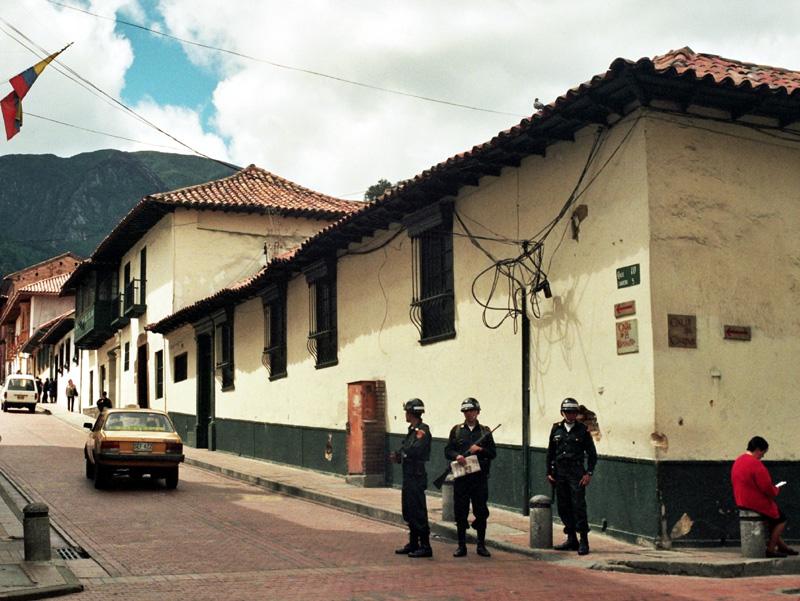 Bogota. Metropolia u stóp Cerro De Monserrate