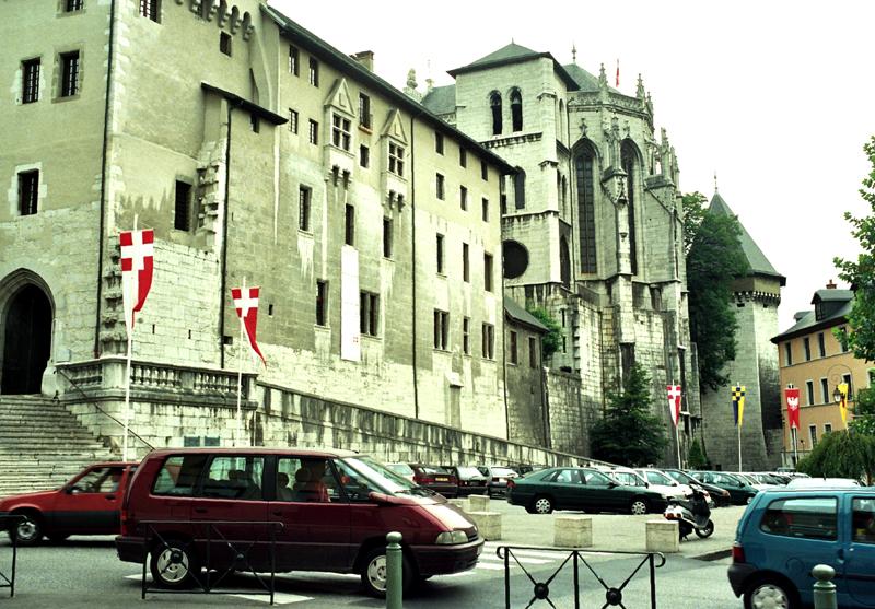 Chambéry Dawna stolica Sabaudii