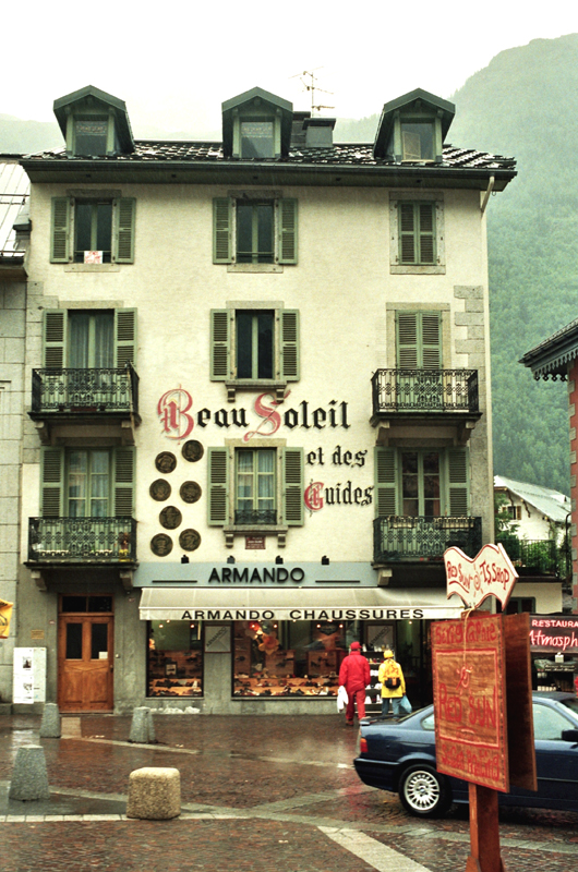 Chamonix – Mont-Blanc. Słynny kurort u podnóża Białej Góry