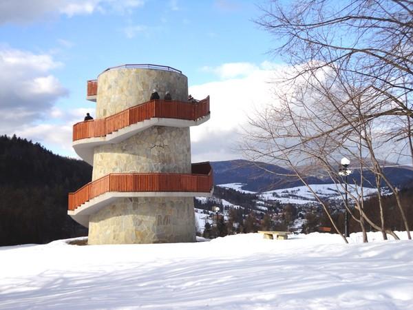 Muszyna. Niezwykły park zdrojowy… pod śniegiem