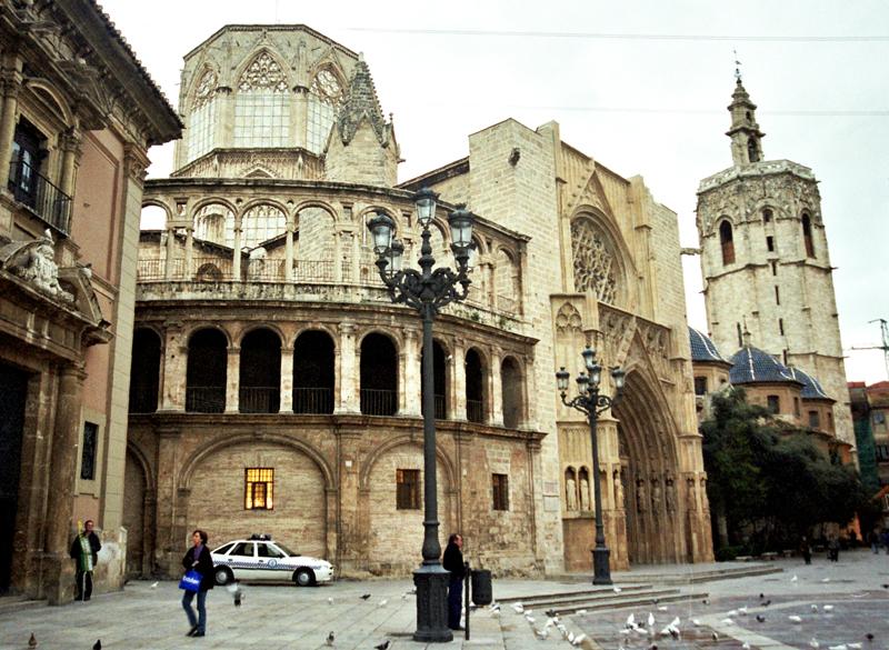 Walencja Muzeum pochodni i kielich św. Graala