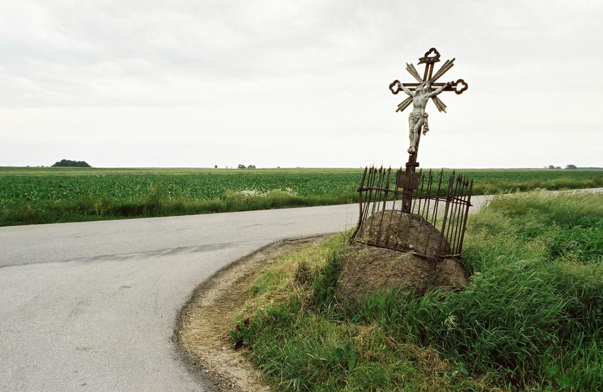 Polska. Kapliczki, przydrożne krzyże i figury