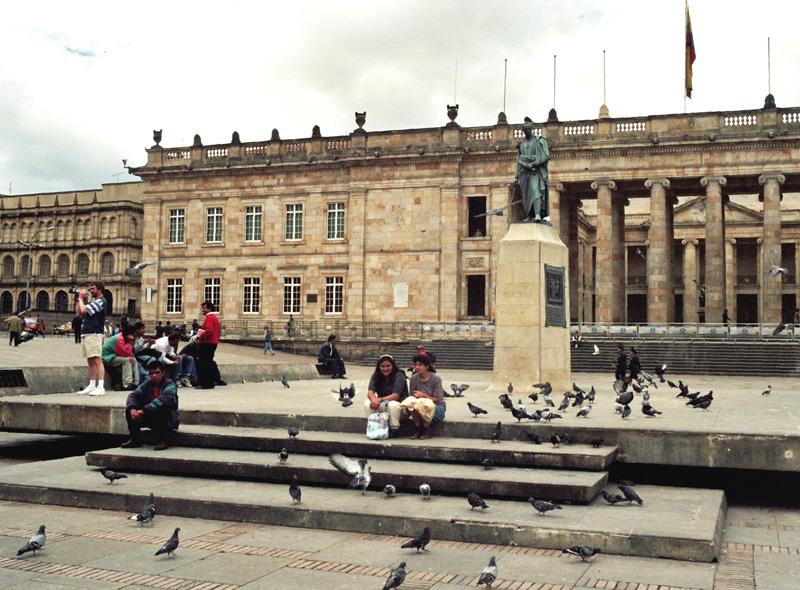 Bogota Od katedry do muzeum złota