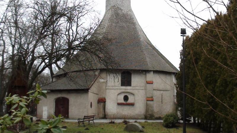 Darłowo Gotycka kaplica św. Gertrudy