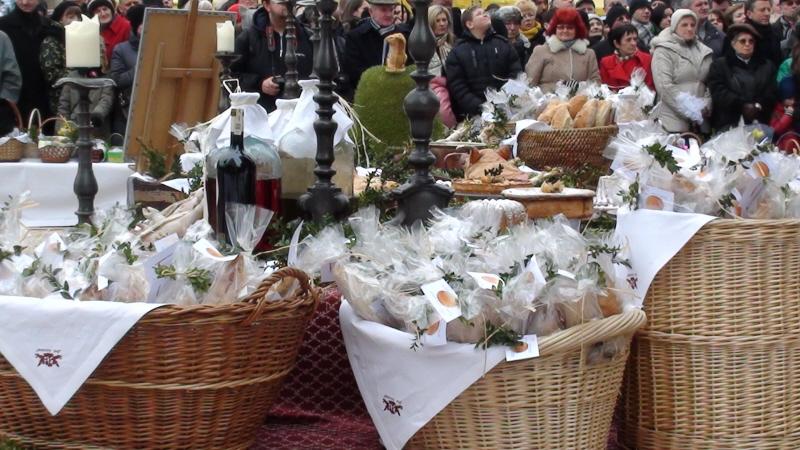 Kraków Święconki 2013 na Rynku Głównym