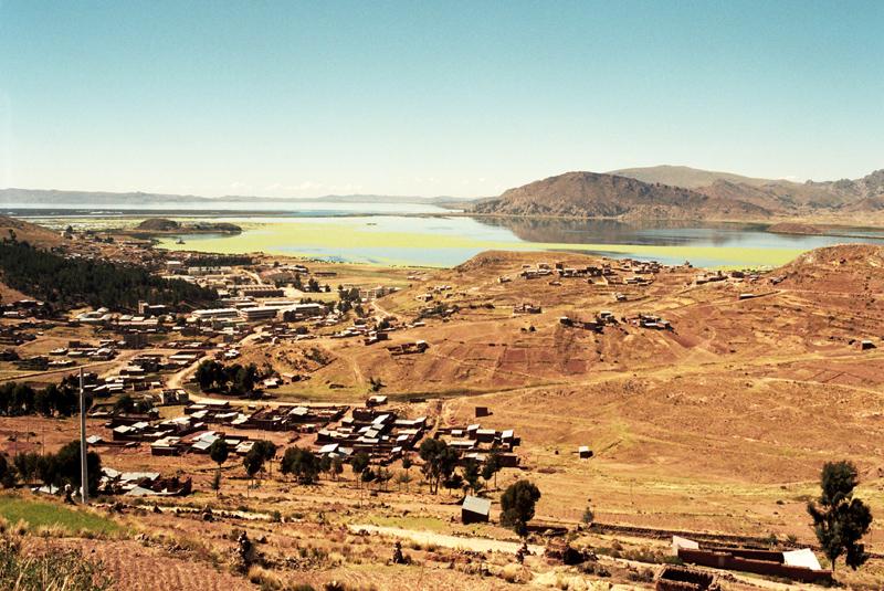 San Carlos de Puno. Port nad jeziorem Titicaca
