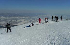 Skrzyczne Piękna narciarska beskidzka góra