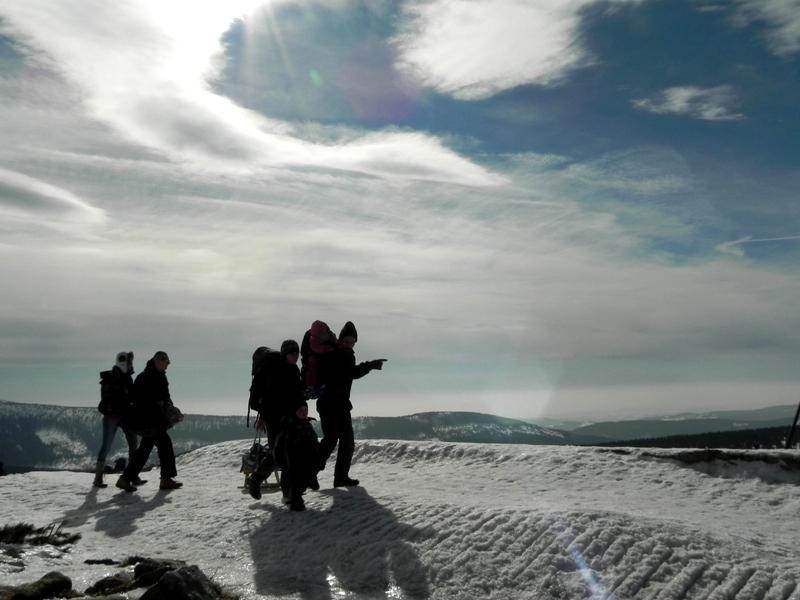Szrenica Schronisko na karkonoskim szczycie