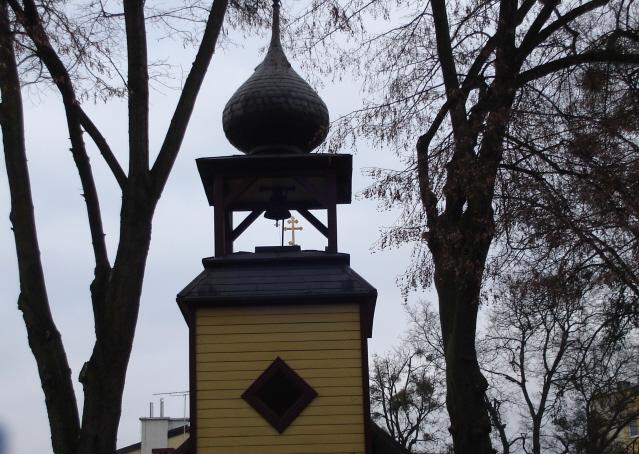 Ciechocinek. Cerkiew wprost z zauralskiej Rosji