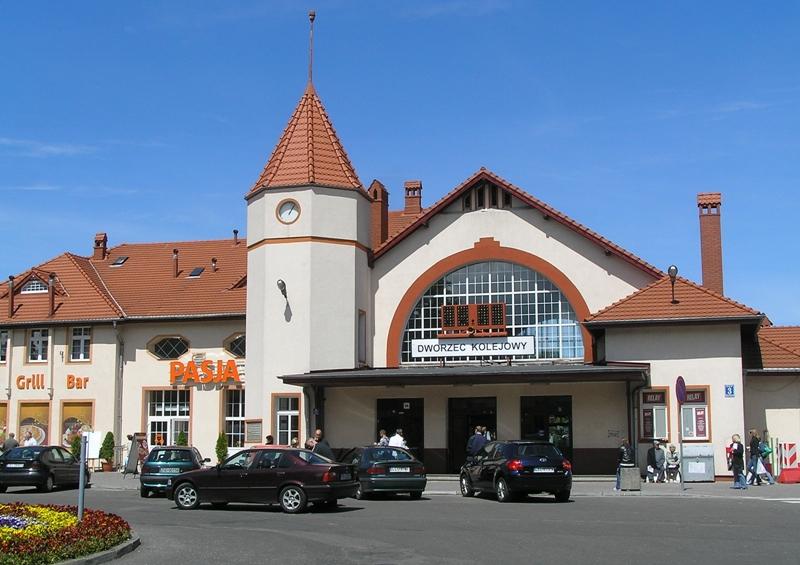 Kołobrzeg Stuletni dworzec kolejowy – jak nowy