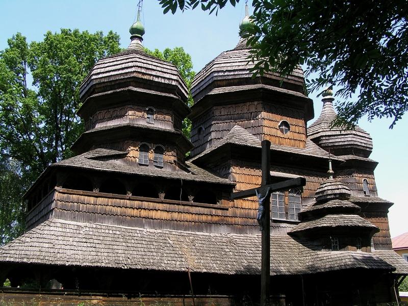 Drohobycz. Stara świątynka na liście UNESCO