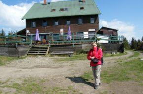Skrzyczne Letnia penetracja narciarskiego szczytu