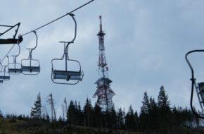 Skrzyczne Pradawną kolejką ze Szczyrku na szczyt