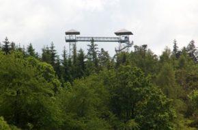 Albrechtice Taras widokowy na Granicznym Wierchu