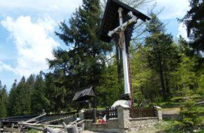 Szczyrk Przełęcz Salmopolska, czyli Biały Krzyż