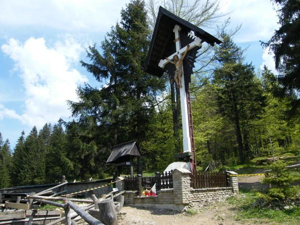 Szczyrk. Przełęcz Salmopolska, czyli Biały Krzyż
