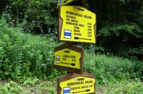 Dolina Bobrowiecka  Z osady Oravice do Siarkowego Źródła