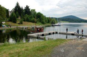 Slezska Harta Najmłodsze jezioro w Czechach