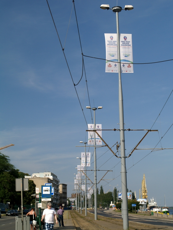 Szczecin. Finał Regat Wielkich Żaglowców 2013