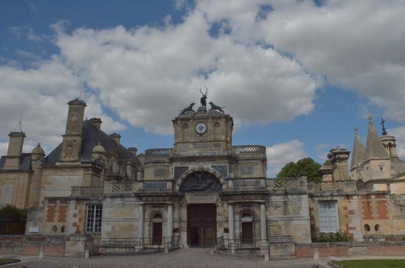 Château d'Anet. Zamek pięknej Diany z Poitiers