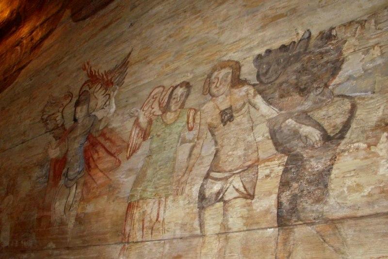 Lipnica Murowana W starym kościółku świętego Leonarda