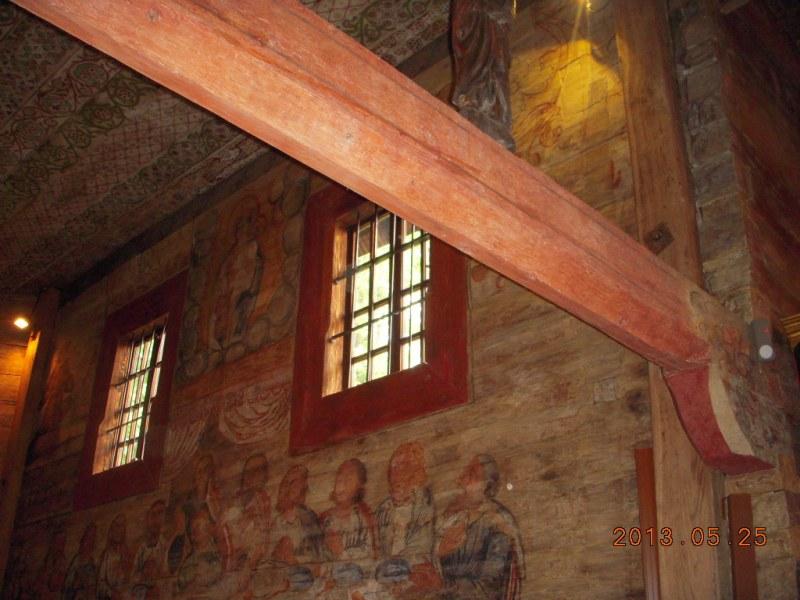 Lipnica Murowana. W starym kościółku świętego Leonarda