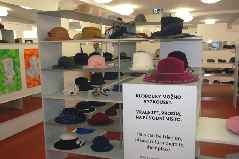 Nový Jičín. Nakrycia głowy w Muzeum Kapeluszy
