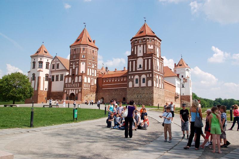 Mir Nowe muzeum w odnowionym zamku