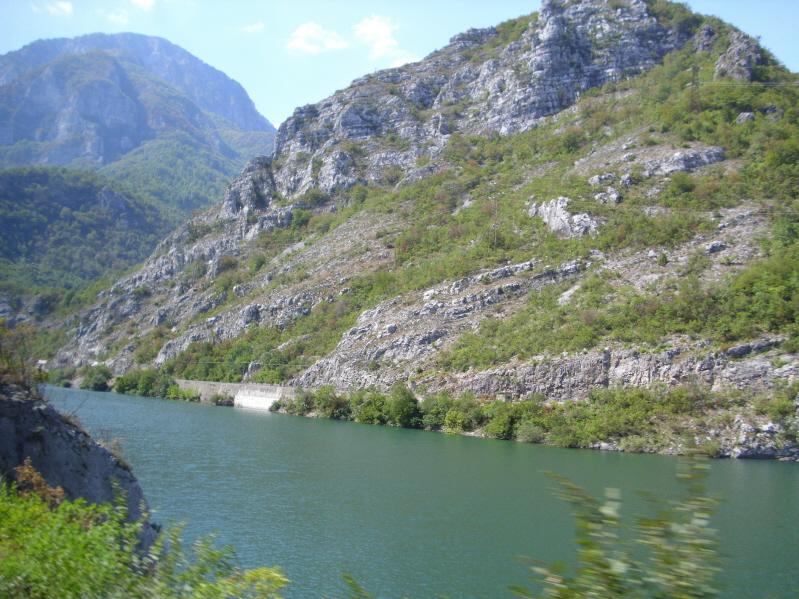 Jablanica. W kanionie Neretwy