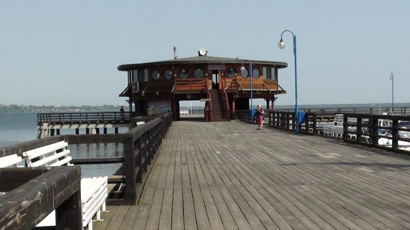 Puck Królewski port nad zatoką