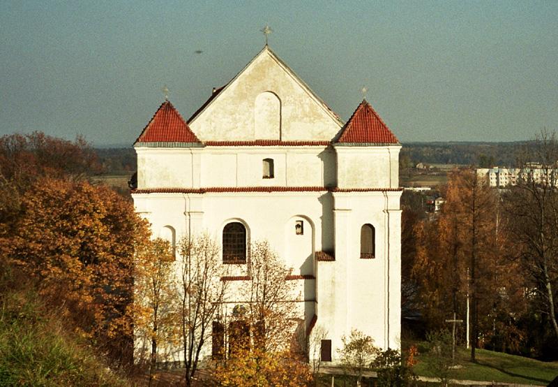 Nowogródek Sakralne zabytki trzech religii