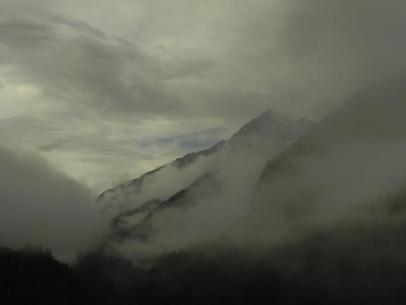 Parc Ela. Przez las i mgłę na Alp Flix